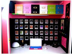 nice organized and neat desk space