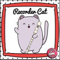 Headache-Free Recorder Lessons with Recorder Cat! Lots of PowerPoints with embedded mp3. Teach a song in several different ways!