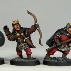 Otherworld Miniatures - HG4 Hobgoblin Warriors - 3 pack - £10