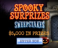Spooky Surprizes Sweepstakes! - Whole Mom