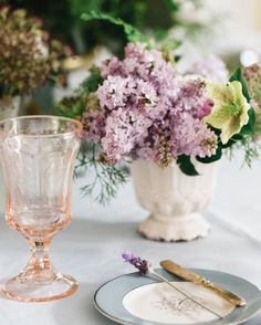 "Lovely Lilacs | A ""Grand Budapest Hotel"" Bridal Shower For Guest Blogger Jenny Bernheim Of Margo And Me"