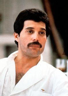 Freddie in South America, 1981.