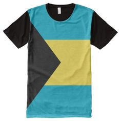 Shop Bahamas National flag Shirt created by afrocaribbean. Personalize it with photos & text or purchase as is! Flag Shirt, S Shirt, Types Of T Shirts, Stylish Shirts, National Flag, Funny Tshirts, Jokes, Mens Tops, Stuff To Buy