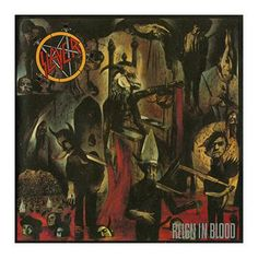 "L'album degli #Slayer intitolato ""Reign in blood""."