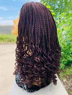 Curly Braids, Braids Wig, Box Braids, Senegalese Twist Crochet Braids, Box Braid Wig, Braids With Extensions, Types Of Braids, Natural Hair Styles, Long Hair Styles