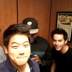 The Maze Runner - If you haven't seen or heard yet, most of the main actors from the Scorch Trials got stuck in an elevator. Click on it to watch the video