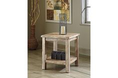 Bisque Vennilux Chairside End Table View 1