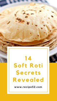 This is a detailed post that will deals with techniques of roti making. You don't need a recipe for soft roti. The secret is in technique. Veg Recipes, Curry Recipes, Healthy Recipes, Indian Food Recipes, Cooking Recipes, Cooking Food, Recipies, Dessert Recipes, Soft Roti Recipe