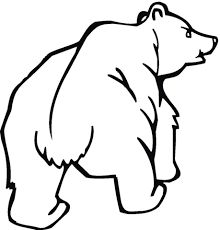 Grizzly Bear Coloring Page Unique Bears Coloring Pages Clipart Best Ice Cream Coloring Pages, Bear Coloring Pages, Coloring Pages For Girls, Printable Coloring Pages, Rocky Mountains, Grizzly Bear Drawing, Simple Wood Carving, Bear Paintings, The Good Shepherd