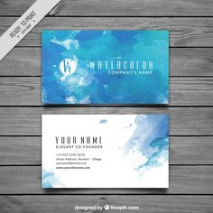 Pin by andy on card pinterest green business green and business carto de visita azul no estilo da aguarela card templatesbusiness reheart Gallery