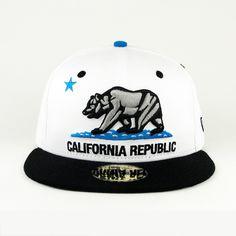 california snapback | California Republic Red New Era Snapback Hat – HypeEater HipHop News ...