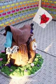 Rucksack Torte ...cake like bag pack ...