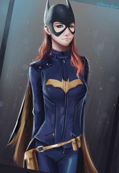 Batgirl by williamcjones48 Cosplay Batgirl, Batman And Batgirl, Batwoman, Nightwing, Barbara Gordon Oracle, Batgirl Of Burnside, Black Bat, Batman Family, Comic Books Art