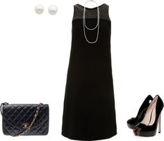 """""""Classic or just boring?"""" by irenabarat on Polyvore"""