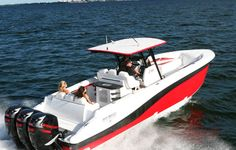 Deep Impact Custom Center Console Boats for Sale Fast Boats, Cool Boats, Custom Center Console, Center Console Fishing Boats, Deck Boat, Deep Impact, Below Deck, Super Yachts, Open Water