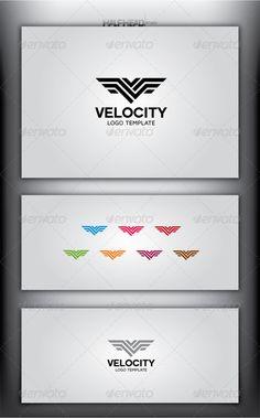 VELOCITY - Logo Design Template Vector #logotype Download it here: http://graphicriver.net/item/velocity-logo-template/4998535?s_rank=345?ref=nexion