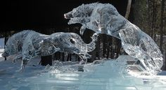 ice/snow art alaska | alaska ice sculptures - | Art: Ice and Snow