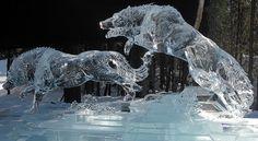 ice/snow art alaska   alaska ice sculptures -   Art: Ice and Snow