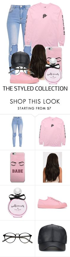 """""""Monday"""" by iloveeyouuxx ❤ liked on Polyvore featuring Kate Spade and Novesta"""