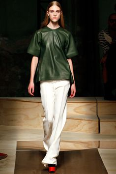 Céline Spring 2012 Ready-to-Wear Collection Slideshow on Style.com