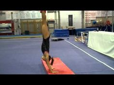 Snap downs: drill to keep legs together + setting drill for back tucks Gymnastics Academy, Gymnastics Floor, Gymnastics Tricks, Gymnastics Skills, Gymnastics Coaching, Gymnastics Workout, Back Handspring Drills, Cheerleading Flexibility, Acro
