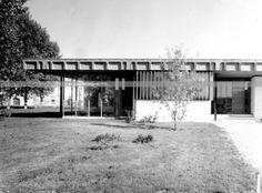 Villa Bianchi. Piadena, Cremona, Angelo Mangiarotti, 1968