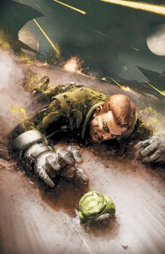 Green Lantern: Emerald Warriors # 10 - Cover Art by Clayton Crain Marvel Comics, Dc Comics Art, Marvel Vs, Comic Sans, Ghost Rider, Geeks, Green Lantern Corps, Green Lanterns, Guardians Of The Universe