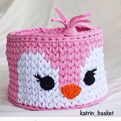 Aii meu coração #boatarde #crochet #crochê #handmade #feitoamao #detalhes #fiodemalha #trapillo #ganchillo #cestos #basket #totora #decoracao #december #decor #decoraçãoinfantil #criativo #babyroom #babygirl #inspiração From @katrin_basket