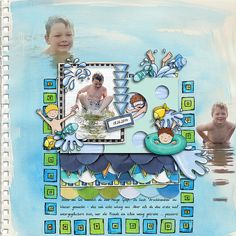 layout by domad  Credits:  Swim like a fish by Kate Hadfield Little Swimmers by Kate Hadfield Art Joodles: Geometrics by Kate Hadfield Sketchbook Pages I by Kate Hadfield Persimmon by Sara Gleason Petals No.1 by Sara Gleason