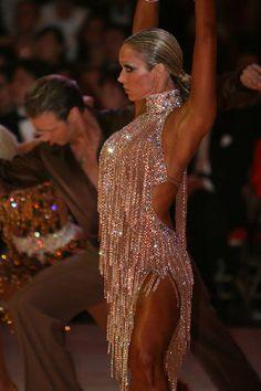 what a beautiful latin dance dress