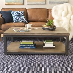 Heritage Coffee Table | Overstock.com Shopping - The Best Deals on Coffee, Sofa & End Tables
