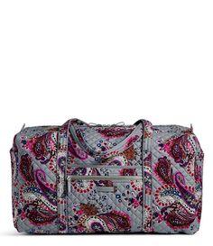 Vera Bradley Iconic Large Travel Duffel  Dillards Vera Bradley Duffle Bag 6e9a5c6cb206d