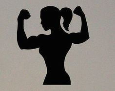 svg woman muscle up - Google Search