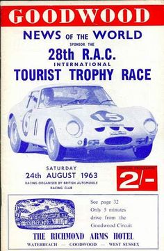 goodwood - List of Races - Racing Sports Cars