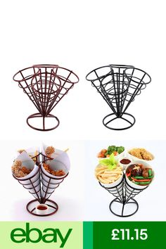Wine Racks Home & Garden Ebay S, Cafe Food, Fish And Chips, Appetisers, French Fries, Serving Dishes, Food Presentation, Food Truck, Appetizer Recipes