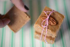 pecan praline fudge