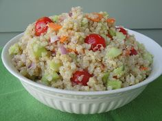 Quinoa Salad - gluten and soy free