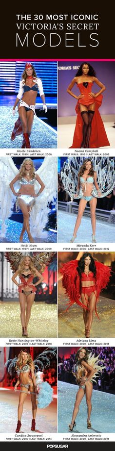 Here's the funny thing about the Victoria's Secret Runway Show: as dazzling as the lingerie may be, it's the Angels who steal the spotlight. Don't get us