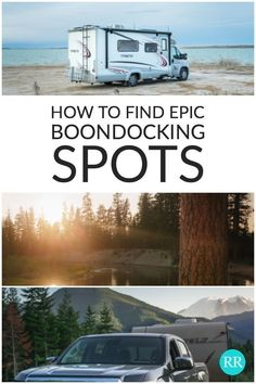 We show you how to use some of the best apps and websites to find free and secluded campsites. #Boondocking #Freecamping #DryCamping #NoHookups #RVTravel #RV