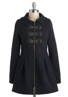 "Basil Crêpes Coat    Please ""repin"" or ""like"" your favorite coat to help me decide!!"
