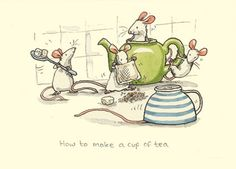 How to make a cup of tea - Anita Jeram