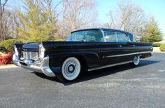 1958 Lincoln Premier  Good looking American highway cruiser