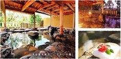 混浴露天風呂「にぎわいの湯」 Pergola, Outdoor Structures, Outdoor Pergola