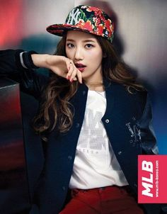 Suzy is a sporty gal in new pictures for 'MLB' | http://www.allkpop.com/article/2014/08/suzy-is-a-sporty-gal-in-new-pictures-for-mlb