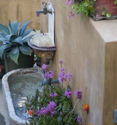 Rustic Garden Fountain
