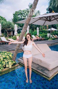 孙允珠- 2017年比基尼写真合辑二 Korean Model, Sexy Bikini, Bikinis, Swimwear, Fashion Models, Erotic, Sons, Asian, Lingerie