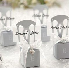 Wedding Candy Boxes Gift Boxes