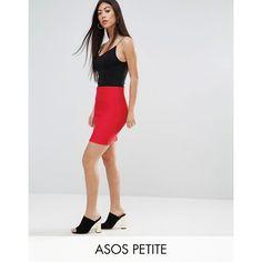 ASOS PETITE High Waist Mini Skirt in Rib (24 CAD) ❤ liked on Polyvore featuring skirts, mini skirts, beige, petite, high waisted mini skirt, short miniskirt, high waisted short skirts, short skirts and stretch mini skirt