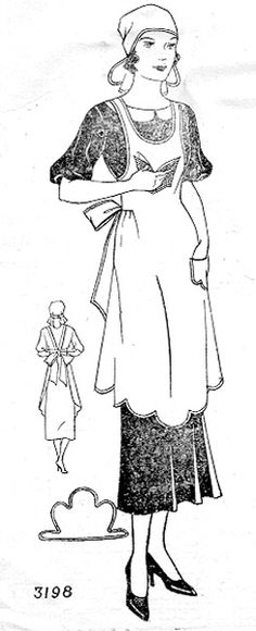 PATTERN: Vintage Sewing, Commercial Pattern Archive: c.1934. Click on broken link for pattern pieces.
