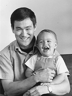 Bruce Lee & Brandon Lee , 1960s : OldSchoolCool